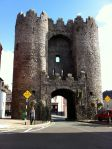 Standing in front of Saint Laurence Gate in Drogheda, Ireland, on my birthday.
