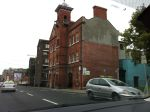 Deirdre's new gym in Dublin, Saint Saviours, in the old, brick fire station with a bell tower.