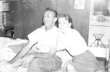 Roger and Mama in south Texas (circa 1959).