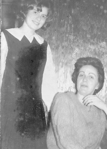 Jeanne and Mama in 1964